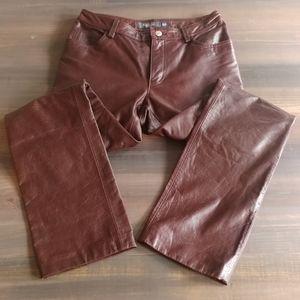 Vintage Y2K Gap genuine leather pants 2351
